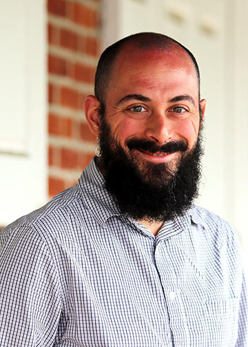 New Head of the Religion Department Dan Christy Randazzo. Photo from mfriends.org.